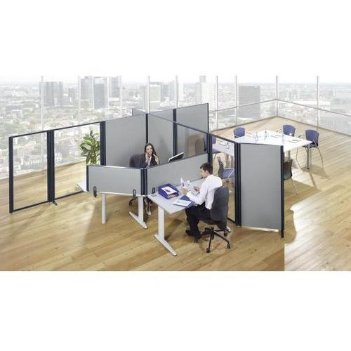 Bruno klein systembau Ścianka działowa stołu, do blatów stołowych od 21 - 42 mm, wys. x szer. 500x1550