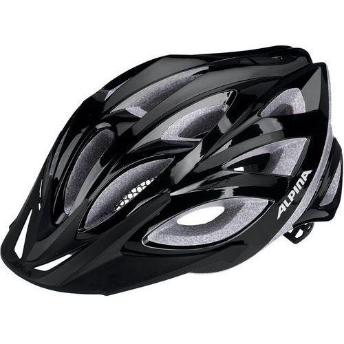 Alpina Seheos Kask rowerowy czarny 55-59cm 2018 Kaski rowerowe (4003692239747)