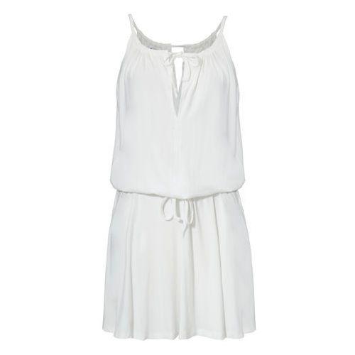 Sukienka Tayla w kolorze kremowym