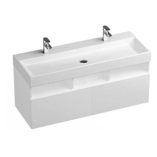 szafka podumywalkowa sd natural 120 cm biała połysk x000001053 marki Ravak