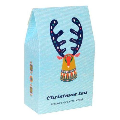 Cup&you cup and you Zestaw świątecznych herbat - christmas tea - doskonały prezent upominek na mikołaja lub gwiazdkę. gramatura 9x5g + 1x8g