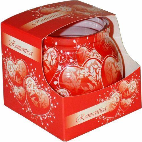Świeca zapachowa w szklance powlekanej Miral Romantica (5901969630688)