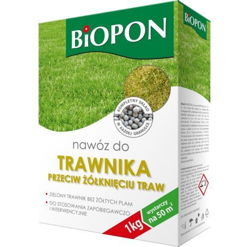 Biopon nawóz do trawnika przeciw żółkięciu traw 5kg