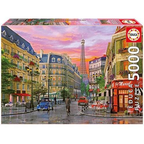 Educa Paryska ulica dominic davison puzzle 5000 (8412668160224)