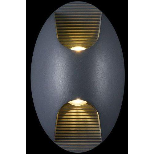 Podwójny kinkiet zewnętrzny LED IP54 Times Square Maytoni Outdoor (O594WL-L6GR) (4251110067063)