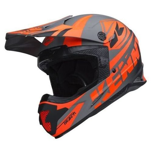 Kask cross track matt grey 2018 marki Kenny