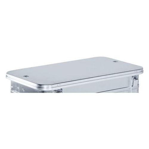 Pokrywa, na zawiasach, do poj. o dł. x szer. 950x550 mm, dopłata. Pasy perlonowe