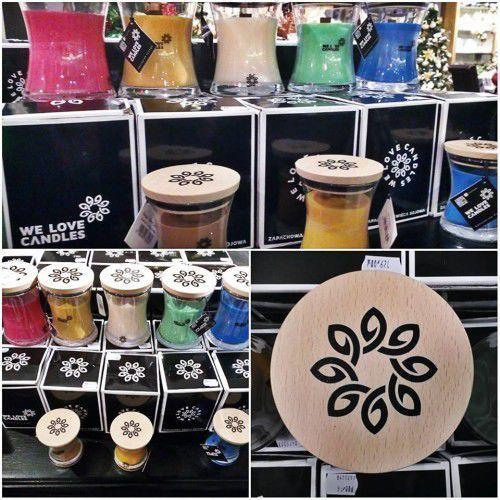 Zapachowa świeca sojowa Ivory Cotton M 300 g - We Love Candles (5902409733181)