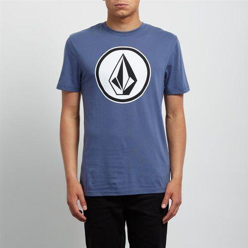koszulka VOLCOM - Classic Stone Dd Ss Deep Blue (DPB) rozmiar: M, kolor niebieski