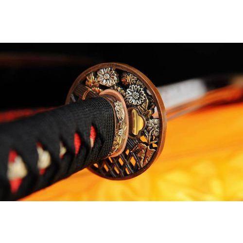 Miecz samurajski katana do treningu, stal wysokowęglowa 1095, r315 marki Kuźnia mieczy samurajskich