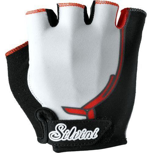 rękawiczki rowerowe punta ca848j white-red 11-12 marki Silvini