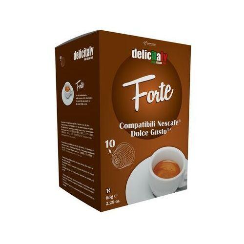 Forte delicitaly kapsułki do dolce gusto – 10 kapsułek marki Nespresso kapsułki