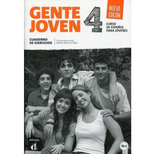 Gente Joven 4 Nueva Edicion ćwiczenia LEKTORKLETT (9788416057221)