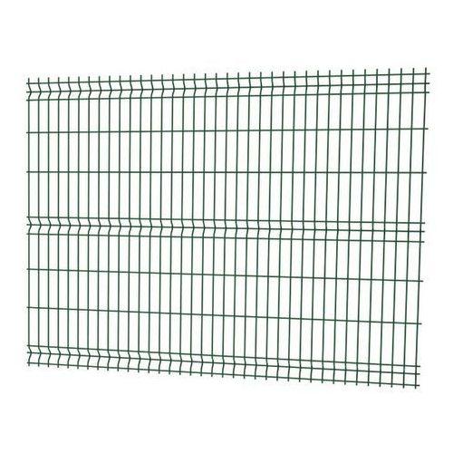 Panel ogrodzeniowy 3D 153 x 250 cm oczko 7,5 x 20 cm drut 3,2 mm ocynk zielony (5412298371901)