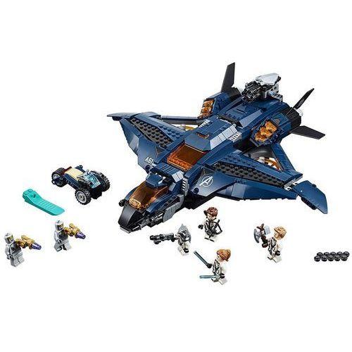 Lego SUPER HEROES Wspaniały quinjet avengersów avengers ultimate quinjet 76126