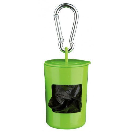 Trixie Pojemniczek plastikowy z workami na psie ekskrementy nr kat. 2331