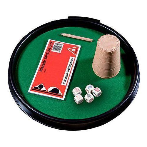 Piatnik kości pokerowe zestaw - 9001890296758- natychmiastowa wysyłka, ponad 4000 punktów odbioru! (9001890296758)