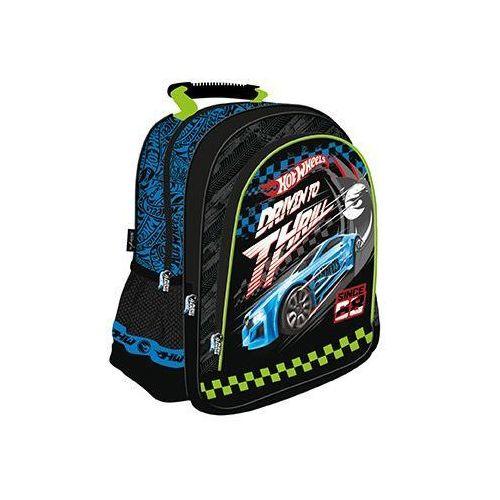 MAJEWSKI Plecak szkolny, licencja HOT WHEELS Darmowy odbiór w 20 miastach!, 5903235111358