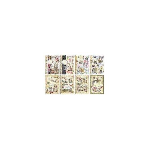 Notes A5/120 kartek w kratkę w twardej oprawie - FRESH