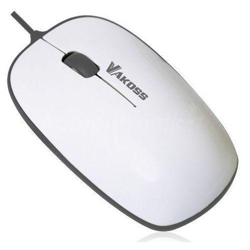 Vakoss Mysz tm-426wa biało-szara darmowy odbiór w 21 miastach!