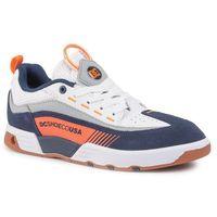 Sneakersy DC - Legacy 98 Slim ADYS100445 Navy/Orange (NO3)