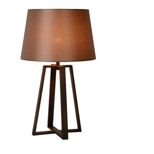 Lucide Coffee - lampa stojąca metal/tkanina rdza wys.64cm (5411212315021)