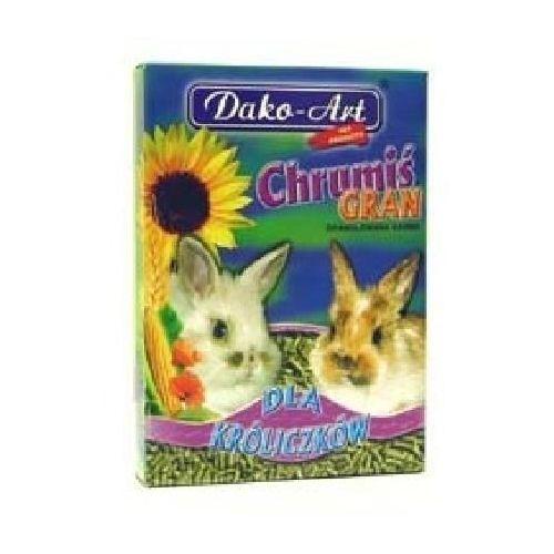 Dako-art Dako art chrumiś gran 500g dla królika