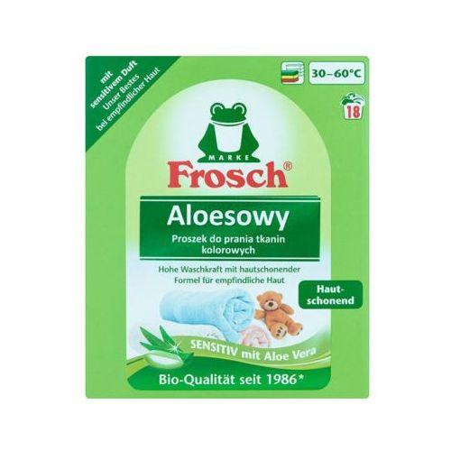 FROSCH 1,35kg Aloesowy proszek do prania tkanin kolorowych (18 prań)