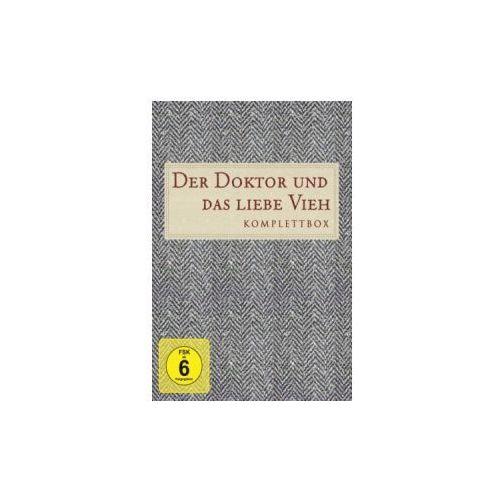 Der Doktor und das liebe Vieh, Komplettbox, 27 DVDs. Staffel.1-7