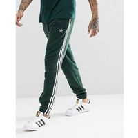 adidas Originals adicolor 3-Stripe Joggers In Green CX1898 - Green, kolor zielony