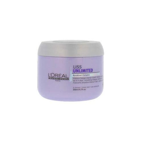L'Oréal Maska wygładzająca do włosów Liss Unlimited – 200 ml, LOR-LIS02