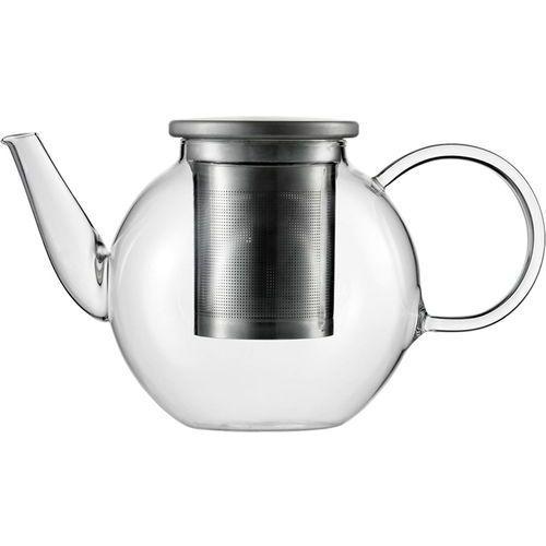 Czajnik szklany ze stalowym zaparzaczem do herbaty good mood 1 litr (sh-115893-1) marki Jenaer glas