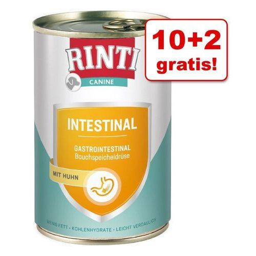 10 + 2 gratis! canine (reddy), 12 x 400 g - mobility z wołowiną  darmowa dostawa od 89 zł + promocje od zooplus!  -5% rabat dla nowych klientów marki Rinti