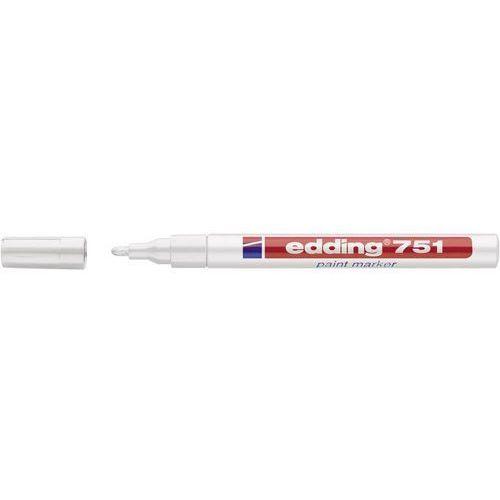 Marker do malowania Edding 4-751049 Biały Kształt okrągły 1 - 2 mm 1 szt. (4004764017607)