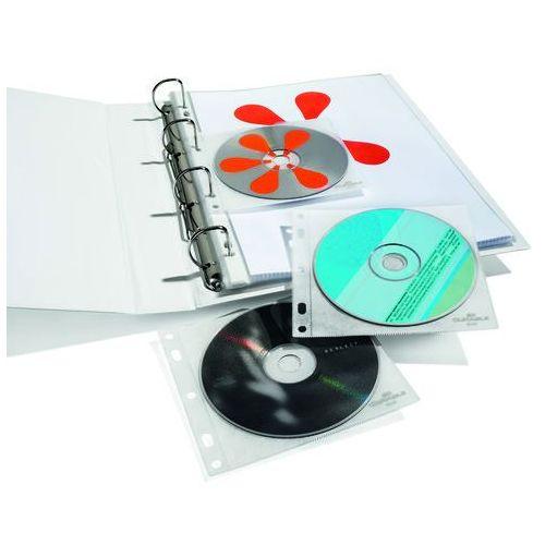 Koszulka Durable na 2 płyty CD/DVD 10 szt. 5239-19 (4005546504339) - OKAZJE