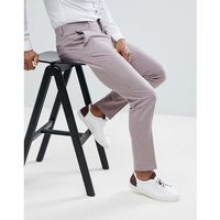skinny crop smart trouser in pink texture - pink, Asos design