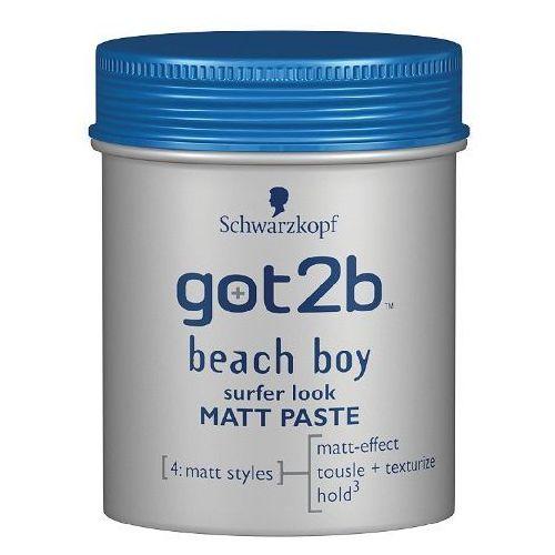 Got2b Matowa Pasta do stylizacji włosów Beach Boy 100 ml (9000100417839)