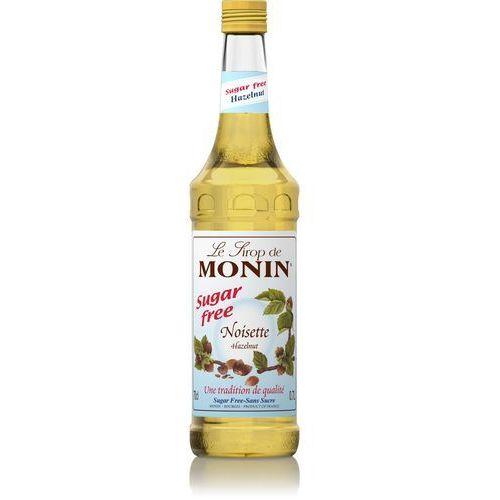 Monin Syrop bezcukrowy orzech laskowy sugar free hazelnut 0,7l monin 912002 sc-912002 (3052910041175)