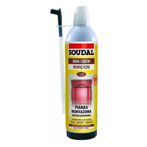 piana montażowa dwuskładnikowa 400 ml marki Soudal