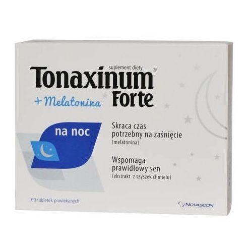 Tabletki Tonaxinum Forte + Melatonina na noc x 60 tabletek