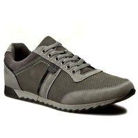 Sneakersy GINO LANETTI - M17SS144-2 Szary, kolor szary