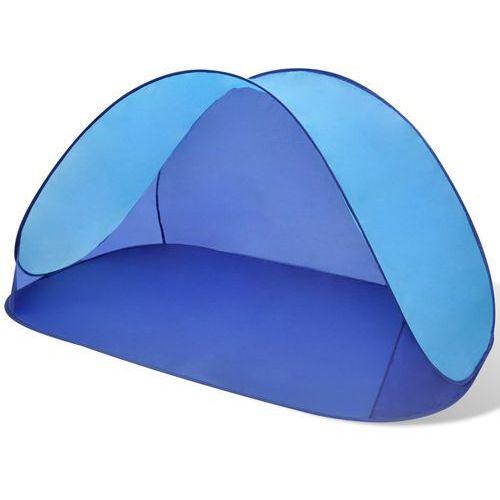 vidaXL Składany namiot plażowy wodoodporny jasnoniebieski (8718475872535)