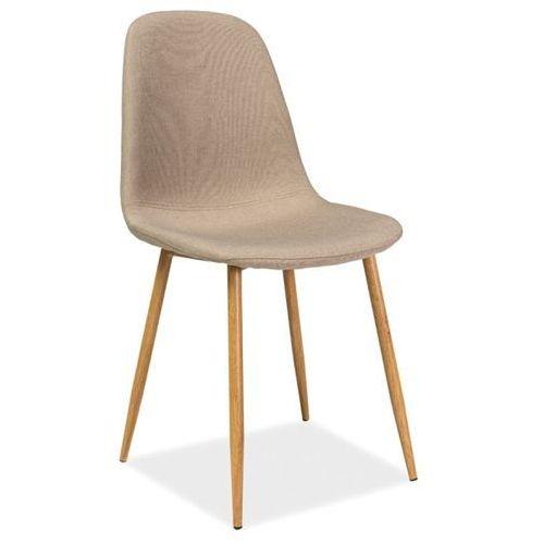 Signal Krzesło do jadalni w stylu skandynawskim fox