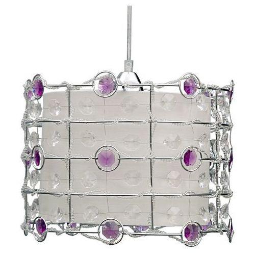Lampa wisząca  seneca 31-02976 fioletowy + linka 85-10523 + darmowy transport! marki Candellux