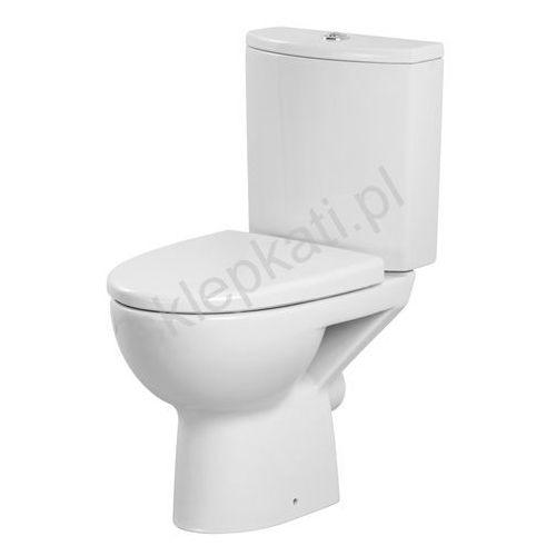 CERSANIT PARVA Kompakt WC z deską duroplast, odpływ uniwersalny K27-001 (5907720648589)