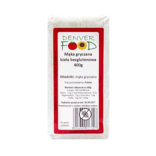 Mąka Gryczana Biała Bezglutenowa (Polska) 400 g Denver Food (5906660017127)