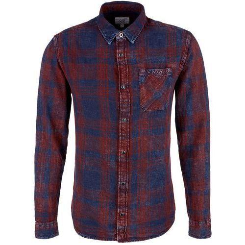 Q/S designed by koszula męska XL ciemny niebieski, kolor niebieski