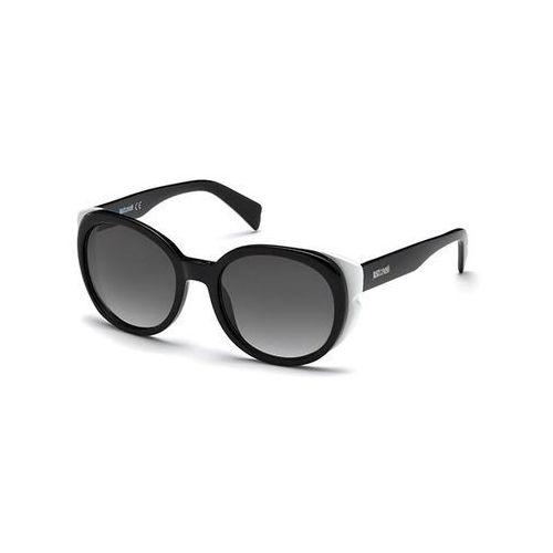 Okulary Słoneczne Just Cavalli JC 756S 04B, kolor żółty
