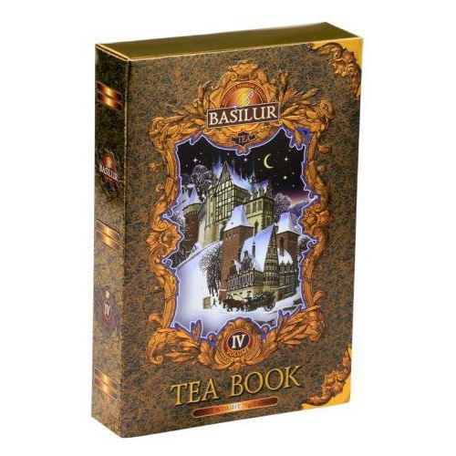 Herbata Książka vol.IV 75 g w kartonie czarna - BASILUR