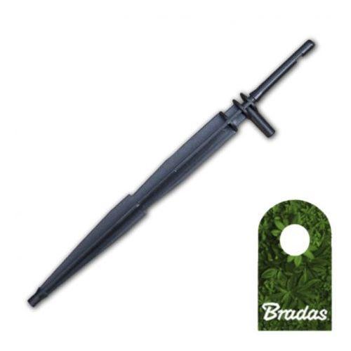 Bradas Kroplownik patykowy prosty 2,2l/h ze wtykiem na wąż 3x5mm 1550